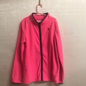 OshKosh B'gosh Girls Zip Sweater size 14